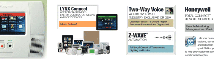Lynx Touch 5200 all-in-one home and business control system
